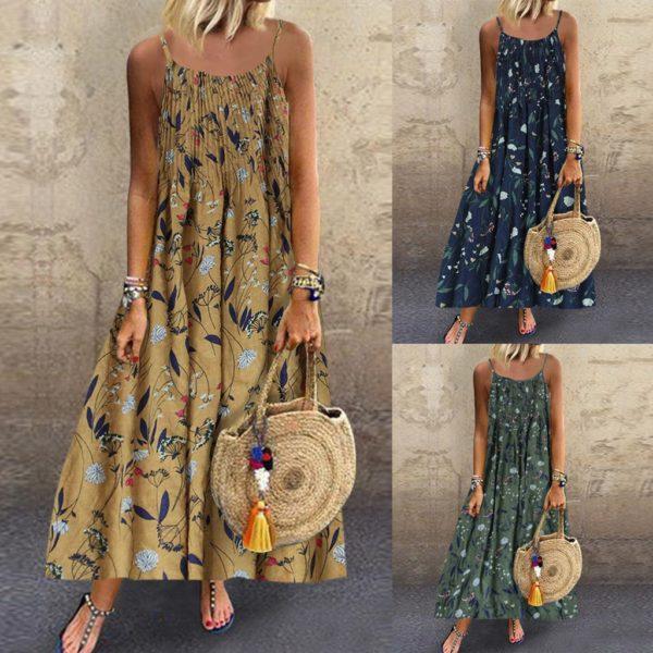 Krásné šaty v bohémském stylu Regina