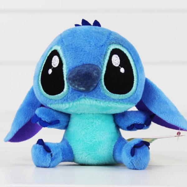 Oblíbená plyšová modrá hračka Kawaii Stitch