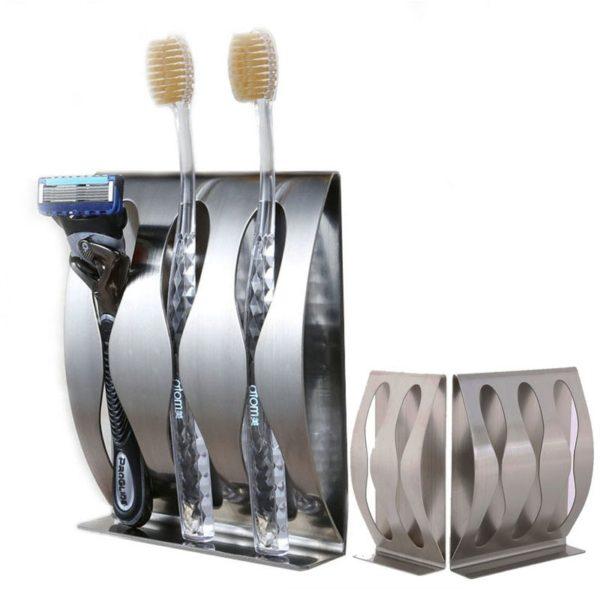 Samolepící držák na zubní kartáčky