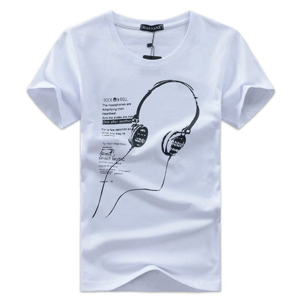 Moderní pánské tričko Simon pro milovníky hudby