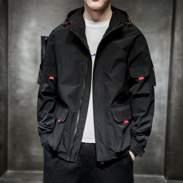 Pánská přechodová stylová bunda