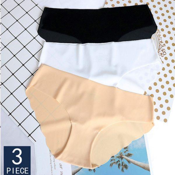 Dámský set bezešvých kalhotek
