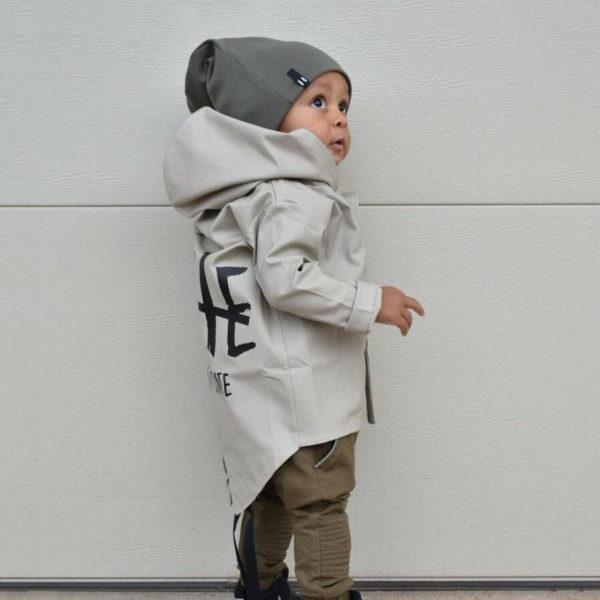 Chlapecká jarní módní parka s kapucí Josiah