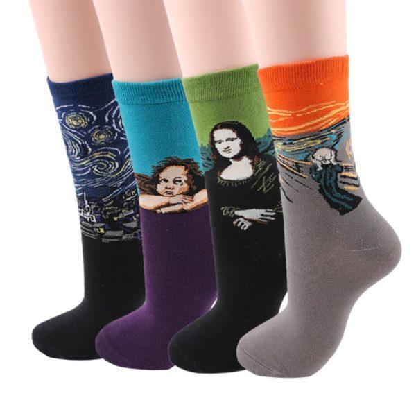 Pánské ponožky s uměleckým motivem