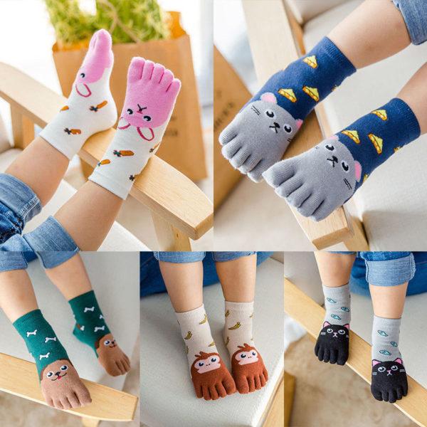 Dětské roztomilé prstové ponožky