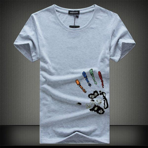 Pánské tričko s potiskem ruky Tormes