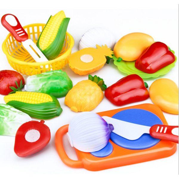 Sada plastové zeleniny a ovoce pro děti