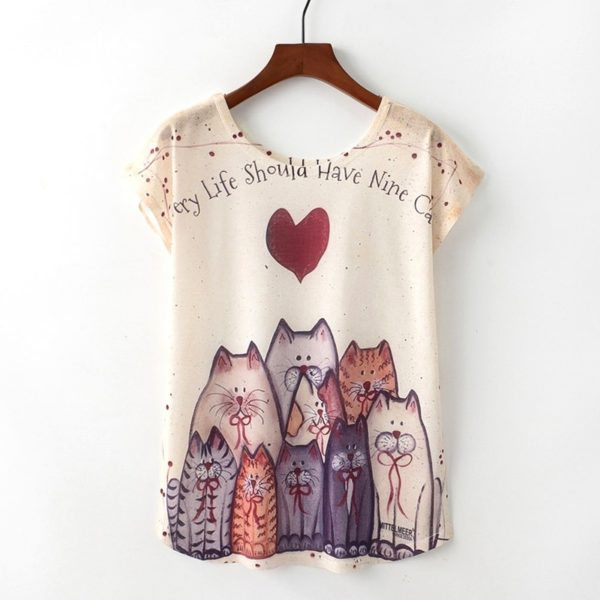 Dámské tričko s potiskem - více variant