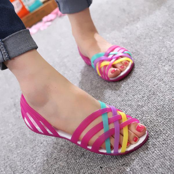 Dámské gumové sandály