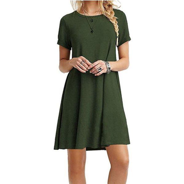 Dámské šaty s krátkým rukávem Amber