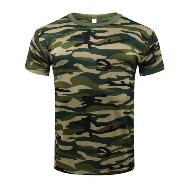 Pánská Army tričko s krátkým rukávem