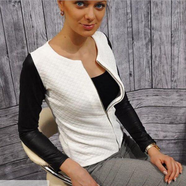 Dámská pohodlná lehká jarní bunda do pasu Mia