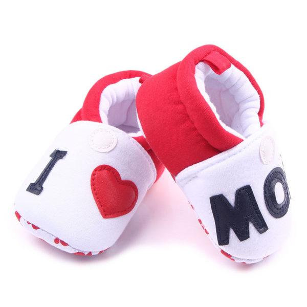 Novorozenecké roztomilé capáčky - I love Mom / Dad