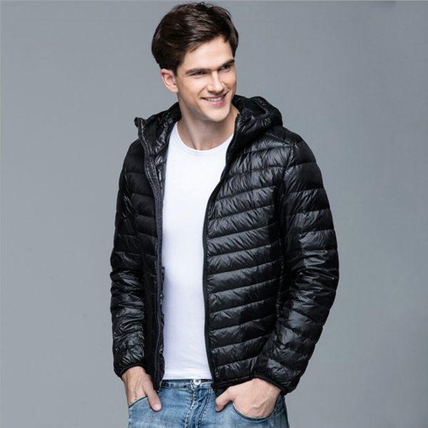 Pánská módní jarní prošívaná bunda Hugo