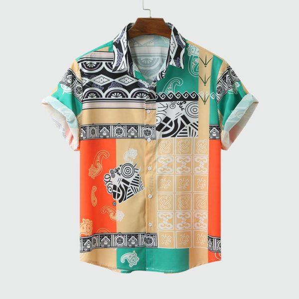 Pánská letní pohodlná košile Summer