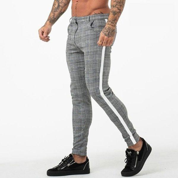 Pánské pohodlné přiléhavé kalhoty George