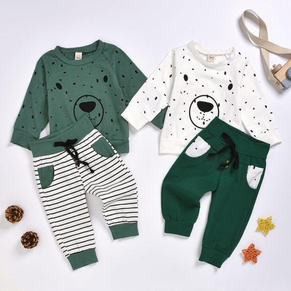 Dětský set domácího pohodlného oblečení