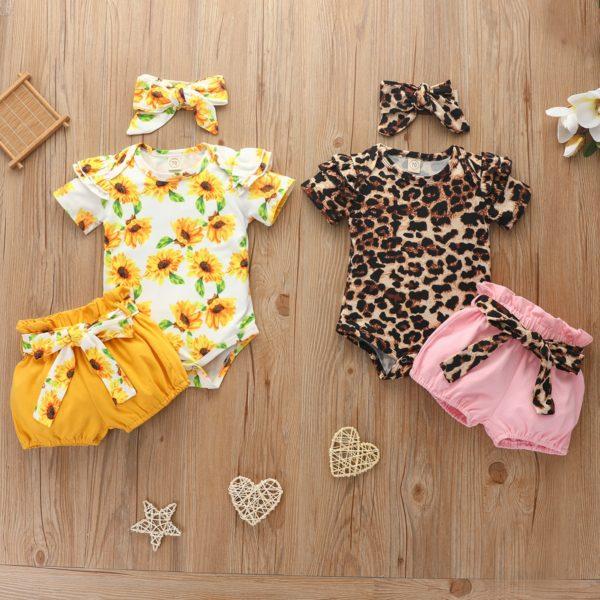 Dívčí novorozenecký set oblečení