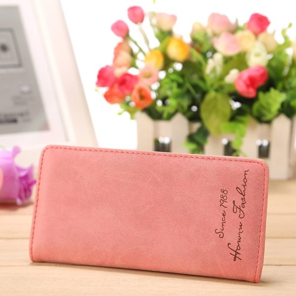 Dámská módní peněženka s nápisem