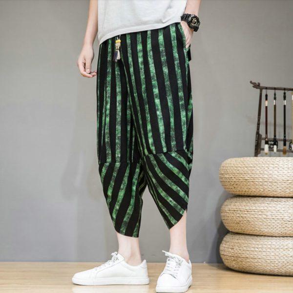 Pánské moderní letní harem kalhoty Nolan