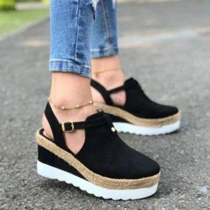 Dámské letní sandálky na klínku Azalea