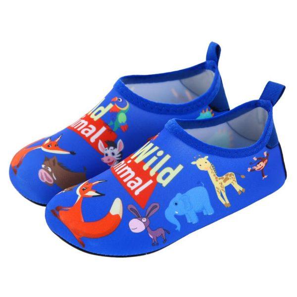 Dětské boty do vody s veselým motivem zvířátek