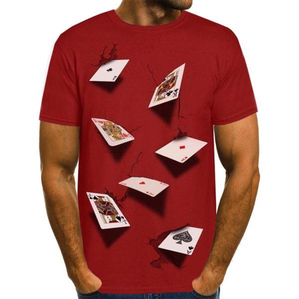 Pánské tričko s motivem pokeru