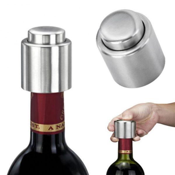 Zátka na víno z nerezové oceli