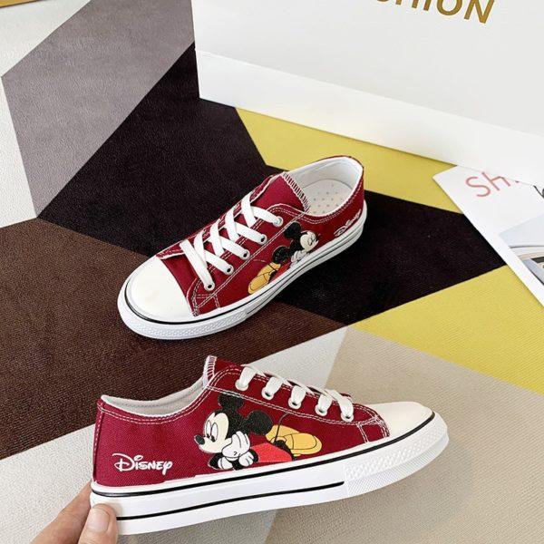 Dámské letní boty s motivem Mickey Mouse