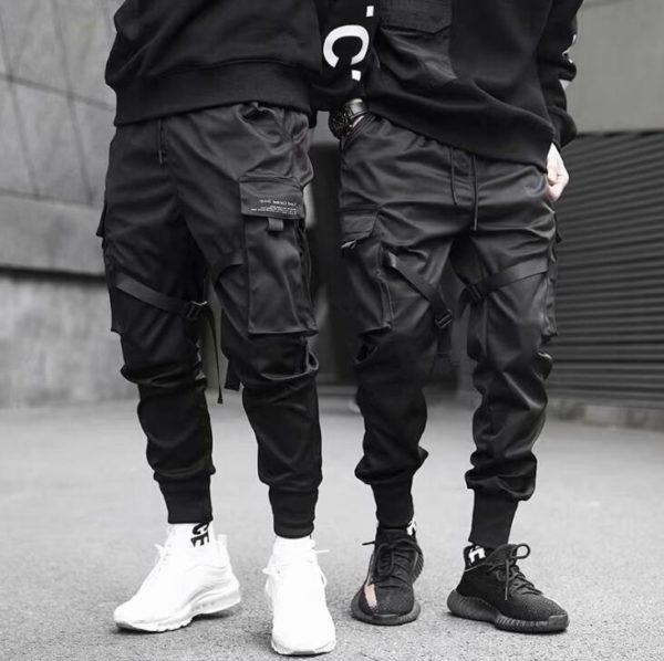 Moderní pánské cargo kalhoty s kapsami Maxwell