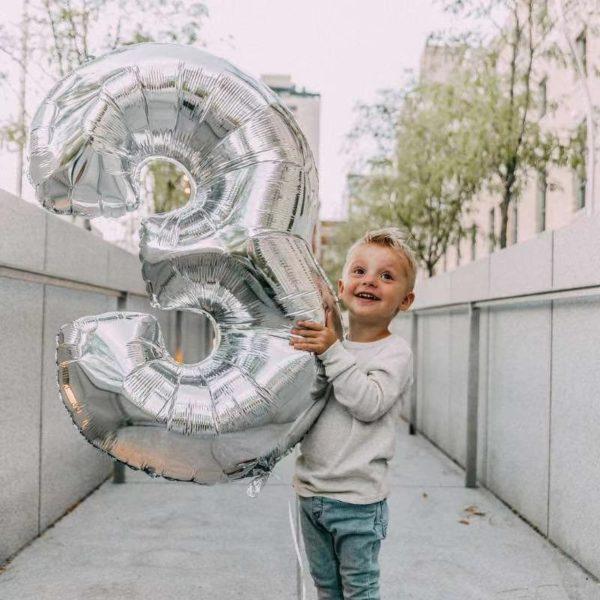 Stříbrná narozeninová čísla