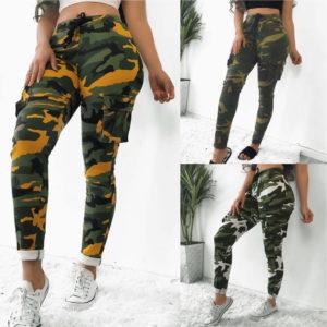 Dámské stylové cargo pants