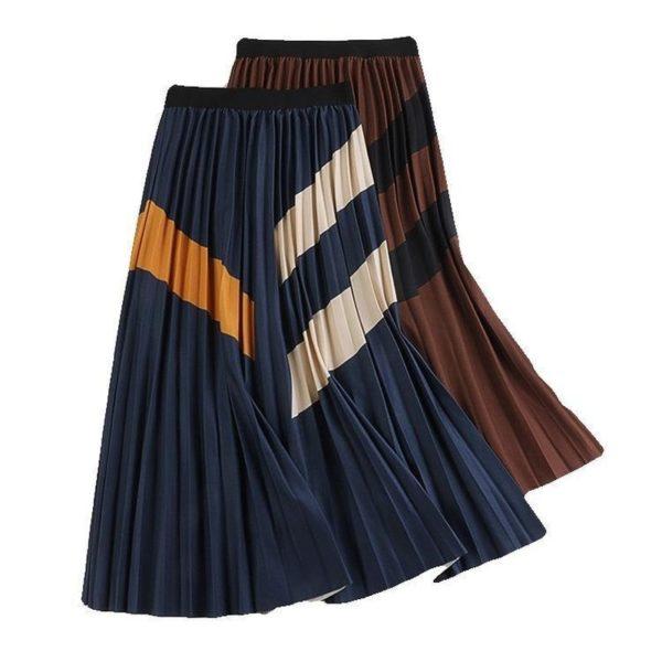Dámská dlouhá šifónová sukně