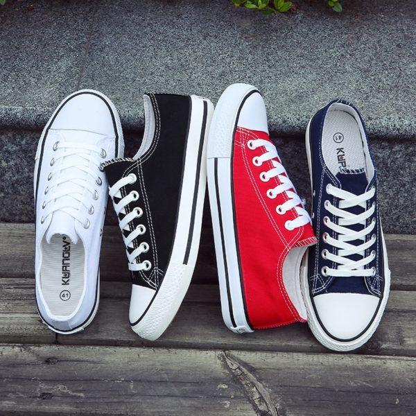 Unisex nízké plátěné boty