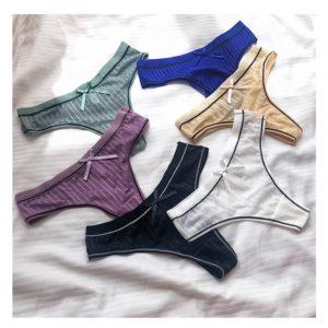 Dámské pohodlné prodyšné brazilkové kalhotky