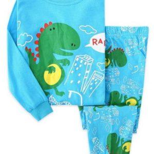 Chlapecké pyžamo s potiskem dinosaurů