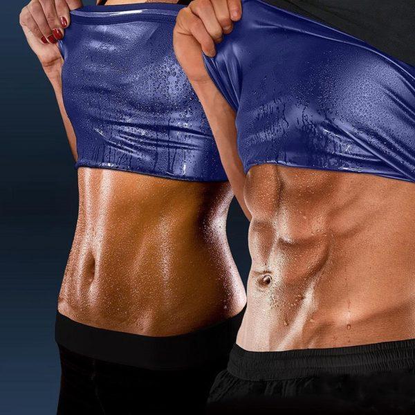 Sportovní tvarovací fitness triko