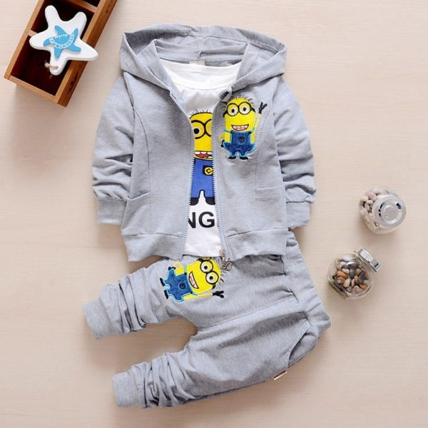 Dětský set 3 kusů oblečení s našitým Mimoňěm