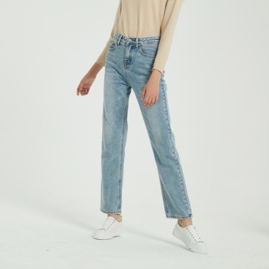 Dámské džíny s vysokým pasem Vanda
