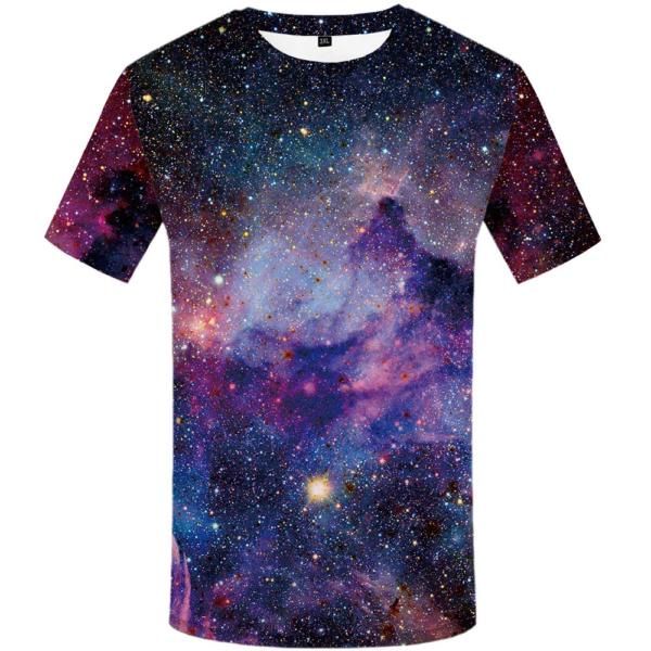 Pánské tričko s potiskem vesmíru