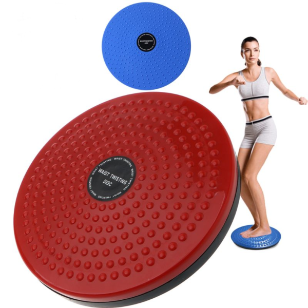 Rotační fitness talíř na zúžení pasu