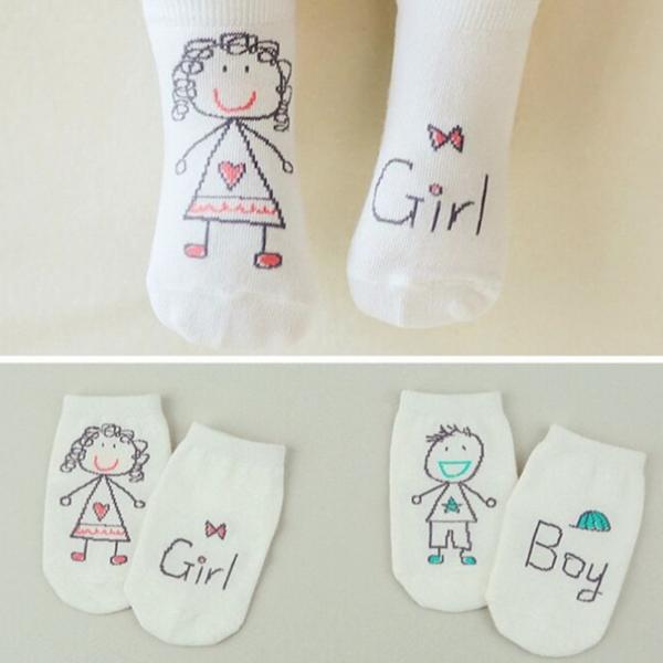Vtipné dětské ponožky pro chlapce i dívky