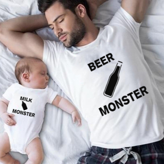 Tričko pro tátu a dítě