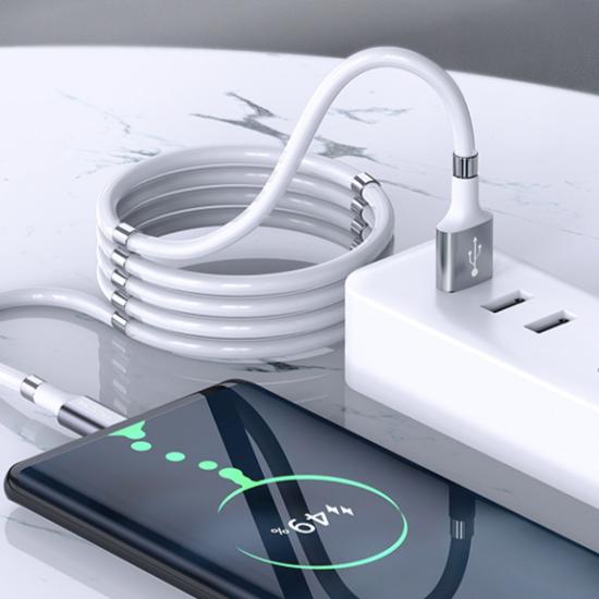 Synchronizační kabel s magnetickým lanem pro rychlé nabíjení