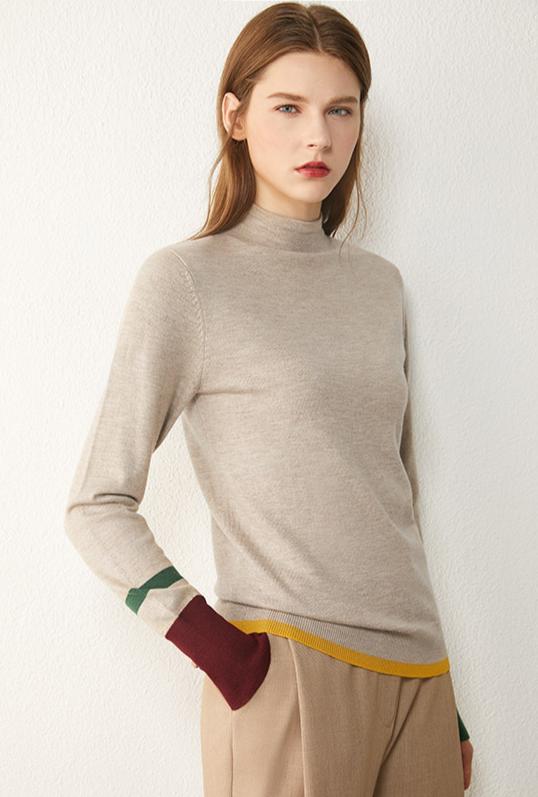 Dámský moderní minimalistický svetr Anna