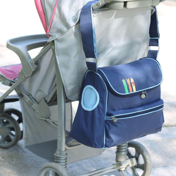 Velká mateřská taška na kočárek