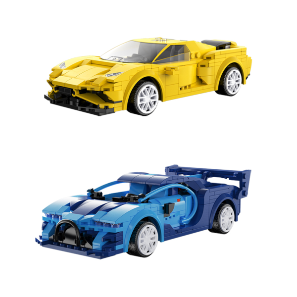 Sportovní model auta s dálkovým ovládáním