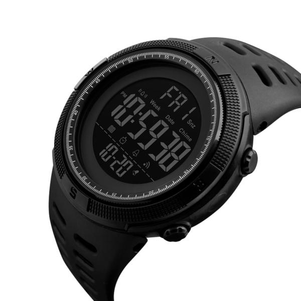 Multifunkční vodotěsné digitální hodinky