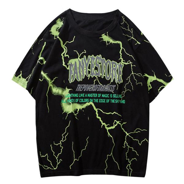 Pánské bavlněné triko v Punk - rockovém stylu
