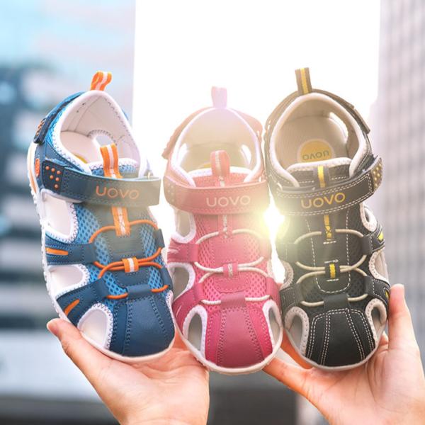 Dětské sandálky v módním designu